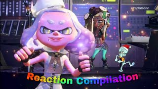 Splatoon 2 Direct - Pearl and Marina - Reaction Compilation