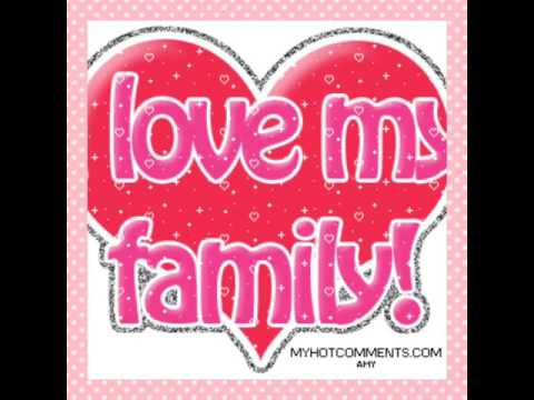 Картинки я люблю свою семью на английском, открытка мама