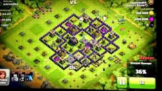 Clash of Clans 650k Gold 650k Elixir COLLECTOR Raid. (No battle sound, couldn't get them to work)