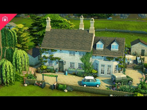 Download Henford Farmhouse   With CC!   The Sims 4: Cottage Living