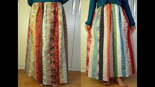 patch skirt패치스커트 パッチスカート