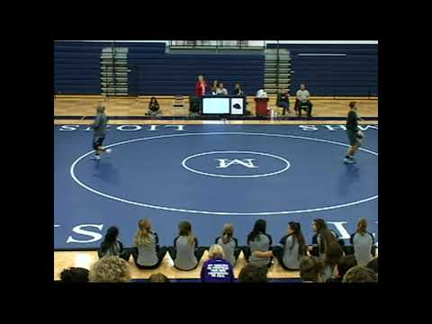 Minneapolis High School Wrestling in a Double Dual on 2/1/2018