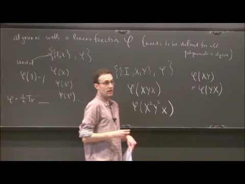 Noncommutative probability for computer scientists - Adam Marcus