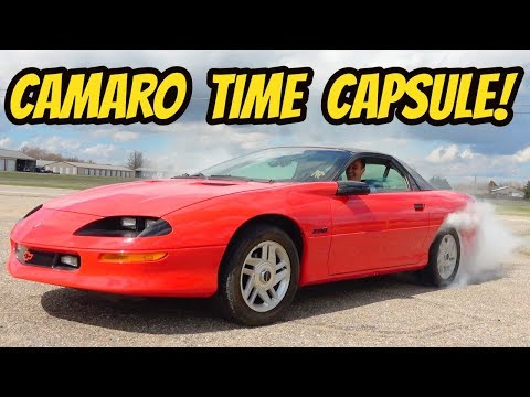 I Bought a Barn Find 1993 Camaro Z-28 and Started it for the First Time in 10 Years!
