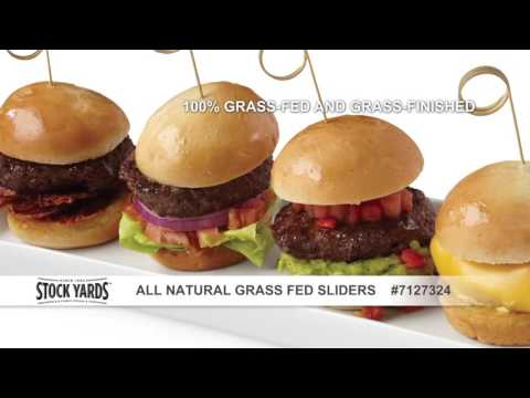Stock Yards® All Natural Grass Fed Sliders
