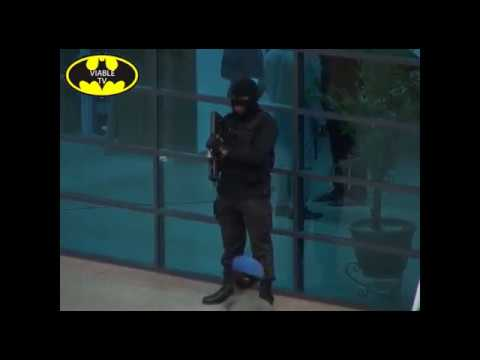 Masked, Heavily Armed Security Operatives Flood the National Assembly