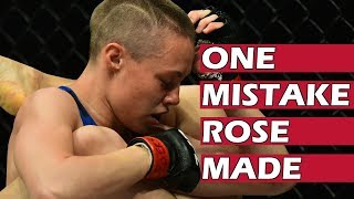 The One Mistake Rose Namajunas Made Against Jessica Andrade - Fight Review