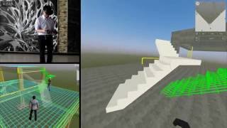 Design, Inspect and Visualize Concrete Structure in BIM + VR
