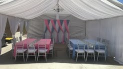 AJ's Party Rentals - 20x20 All White Tent Draping