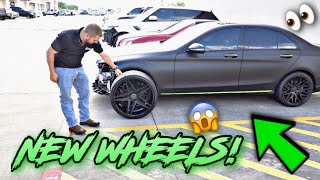 BUYING MY WIFE 22 INCH RIMS FOR HER BENZ