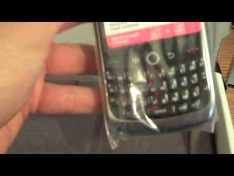Blackberry Curve 8900 Unboxing