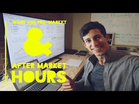 What Are Pre Market & After Market Hours? | Penny Stock Investor