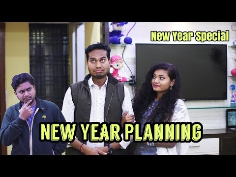 New Year Planning || पति पत्नी और नया साल || Comedy By Anand Manikpuri