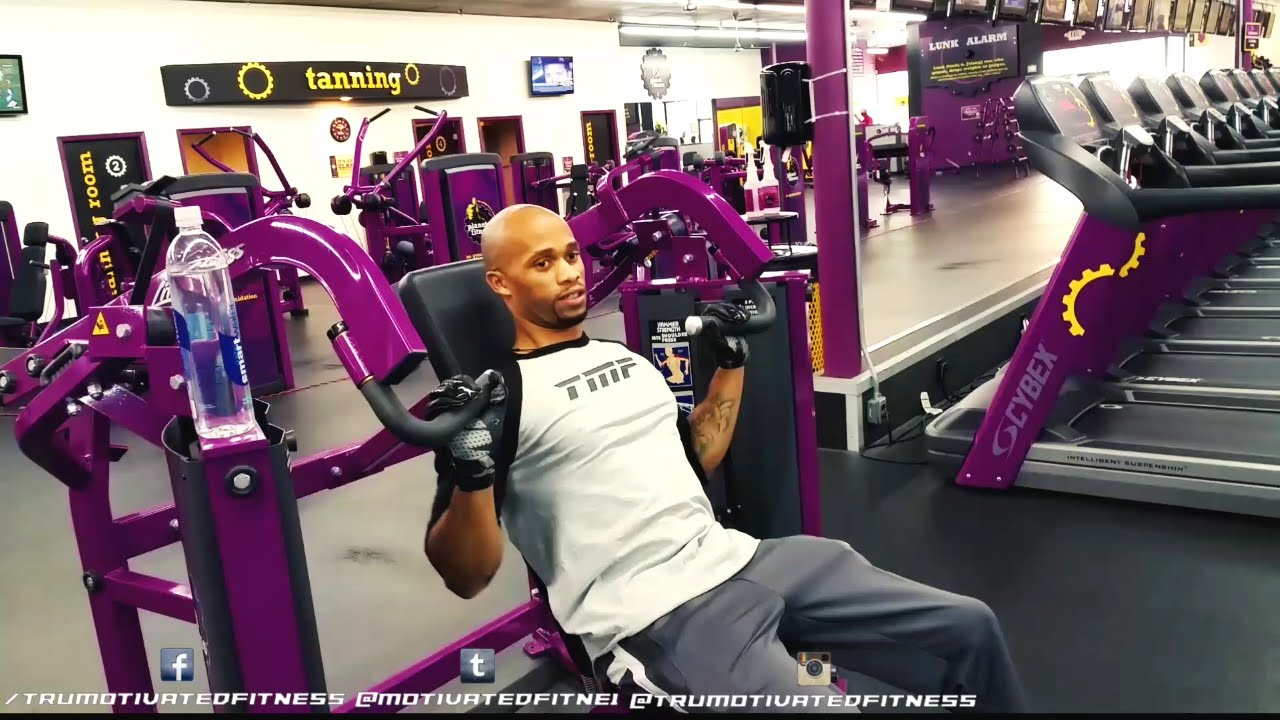 Workouts to do at planet fitness