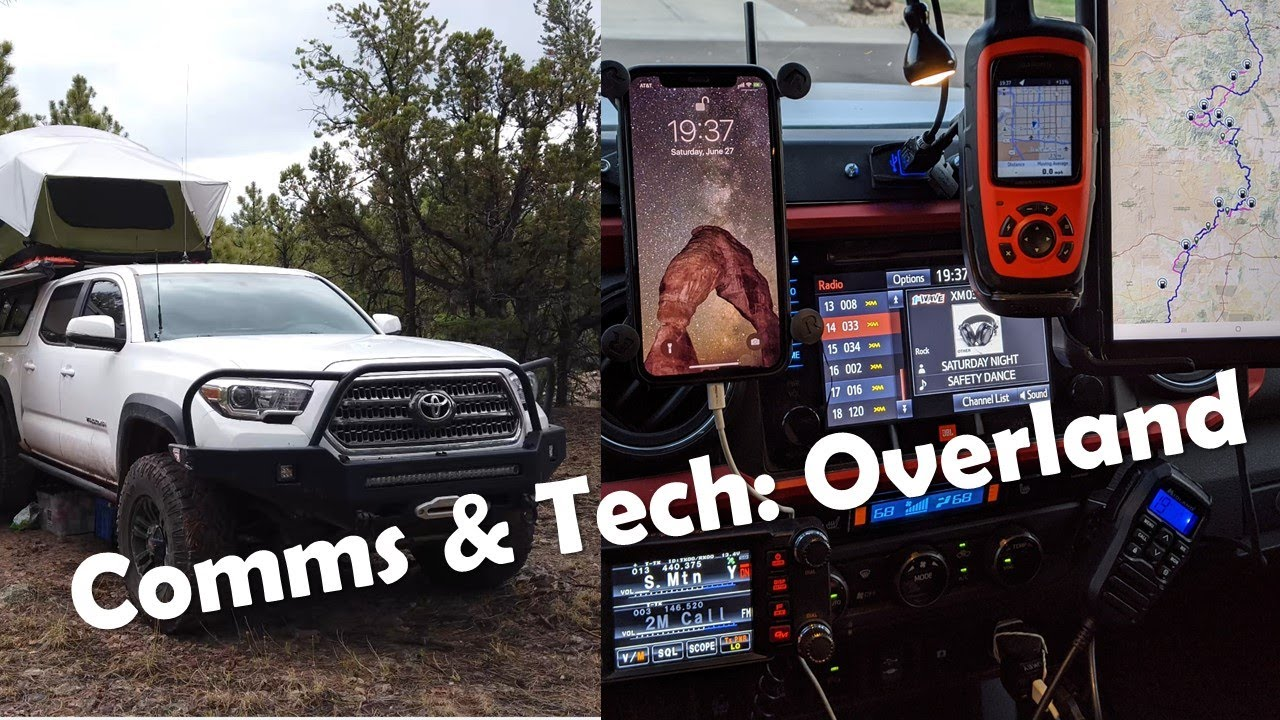 Download Overlanding communications equipment and technology that I use (ham, GMRS, 4G, InReach, etc)