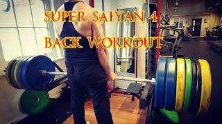 Super Saiyan 4 BACK WORKOUT Full Routine