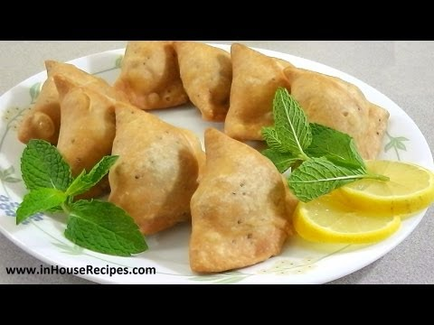 Samosa Recipe – Punjabi Aloo Samosa - inHouseRecipes