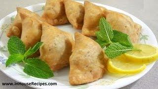 Samosa Recipe – Punjabi Aloo Samosa - Inhouserecipes