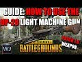 GUIDE: How to use the NEW DP-28 LMG (Patch 1.0 preview) in PUBG