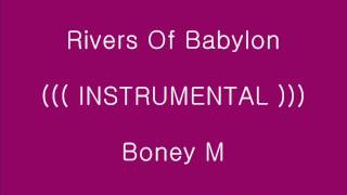 Rivers Of Babylon - Boney M_[가사, 歌詞, Lyrics]