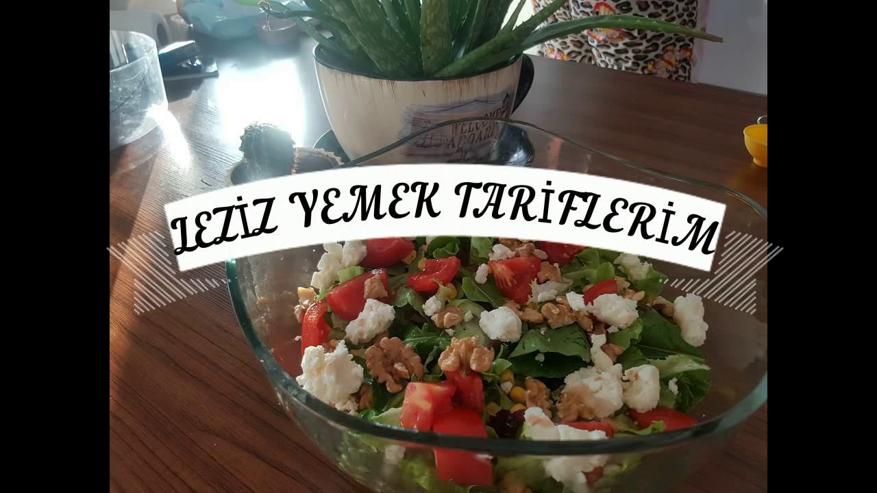 Nusretin Tulum Peynirli Salatası Sırrı Bende Dedi (Nusret Salata)-Salata Tarifi