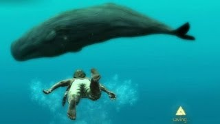 Repeat youtube video Assassin's Creed 4 Black Flag AMAZING EASTER EGG - Close Encounter With Massive Secret White Whale!