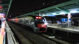 ITX青春 京義中央線西氷庫駅通過 KORAIL ITX-Cheongchun at Seobinggo Station