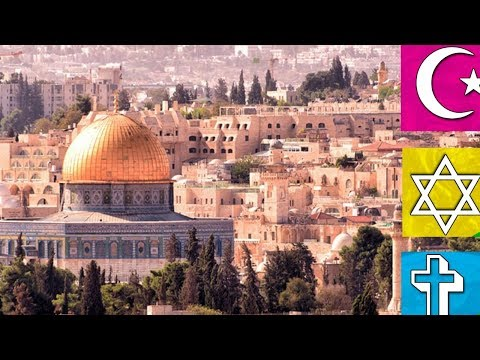 Why Jerusalem is so sacred for these three religions?