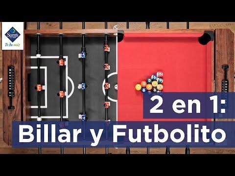 Mesa 2 En 1 De Billar Y Futbolito