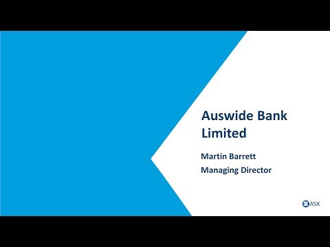 ASX Small And Mid-Cap Conference - Auswide Bank Limited (ASX:ABA)