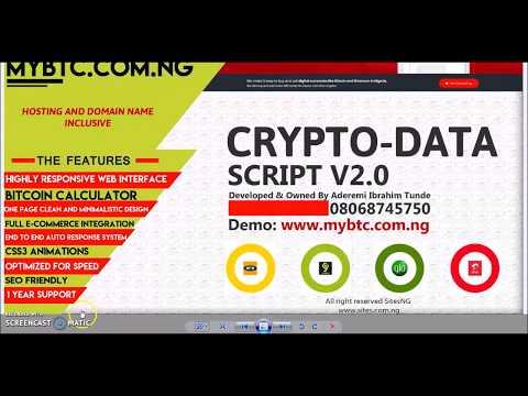 Crypto Data  Script V2 0