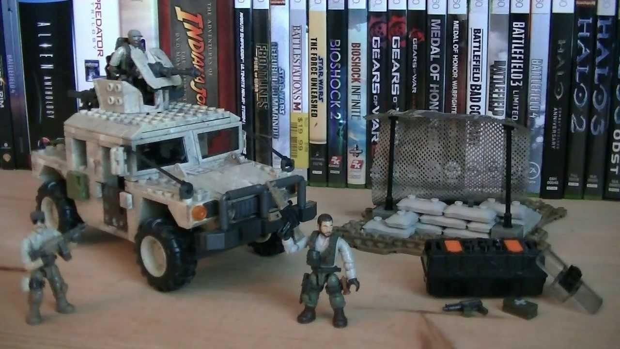 Call of Duty Mega Bloks 06817 Light Armor Firebase Review
