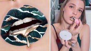 ПОВТОРЯЮ макияж губ из INSTAGRAM 💄 RINA