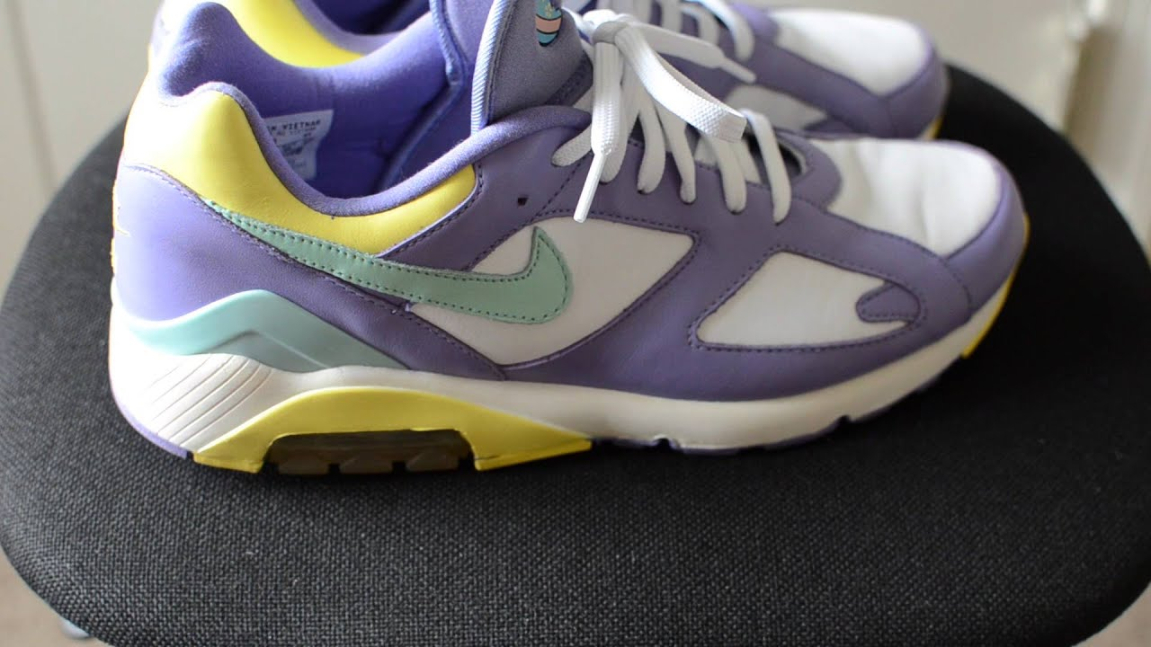 history of nike air max 180 easter