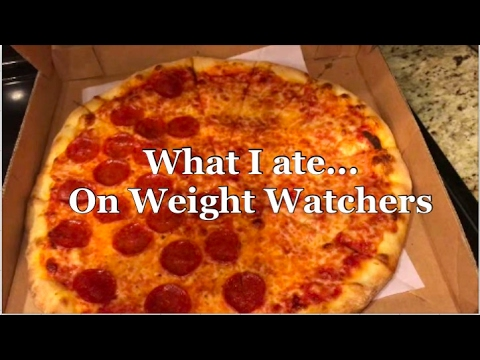 What I Ate on Weight Watchers Smart Points - New York Pizza