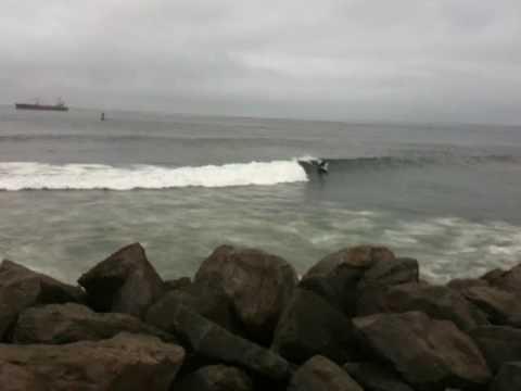 westport surf the groins youtube