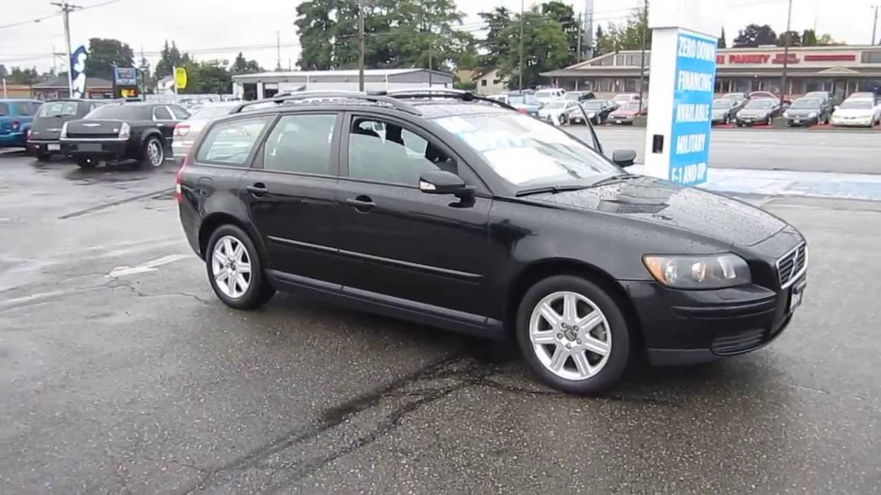 2006 volvo v50 black stock 11238