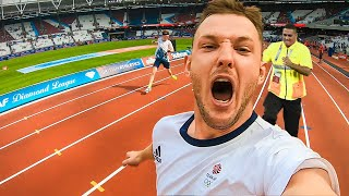 Sneaking into the 100m World Championships