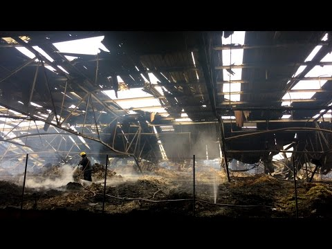 AFTER THE FIRE: We go inside the burnt out Durban warehouse