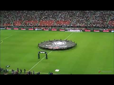 Trip : Pembukaan Pertandingan Juventus vs Tottenham di National Stadium Singapore Sport Hub
