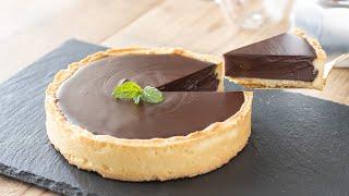 濃厚生チョコタルトの作り方 Rich Nama Chocolate Tart|HidaMari Cooking
