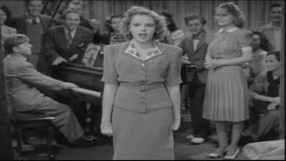 "Judy Garland - A number from the film ""Babes In Arms"""