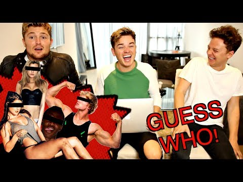 GUESS THE YOUTUBER | ft. CONOR MAYNARD & MIKEY PEARCE