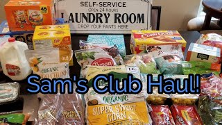 Sam's club Haul!