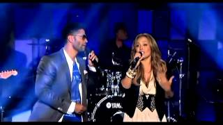 (HD) Tamia and Eric Benet - Spend My Life Live @ Verses and Flow (2012)
