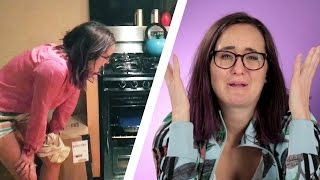 Adults Try Cooking For A Week
