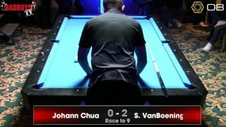 Shane VanBoening vs. Johann Chua