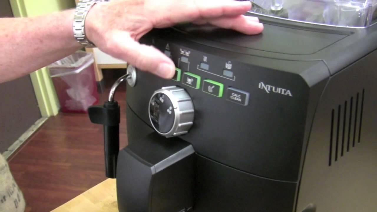 crew review saeco intuita superautomatic espresso machine. Black Bedroom Furniture Sets. Home Design Ideas