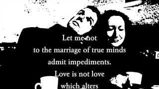 Скачать Shakespeare Sonnet 116 Let Me Not To The Marriage Of True Minds