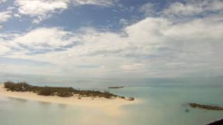 """CKflyer"" Explores Sandy Cay in the  Exumas,  Bahamas HD"